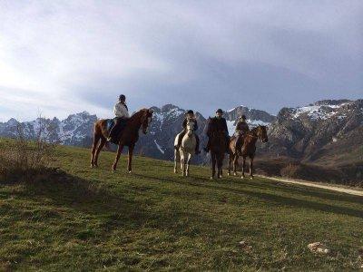 horse riding tour, Valle de Liébana. 1h