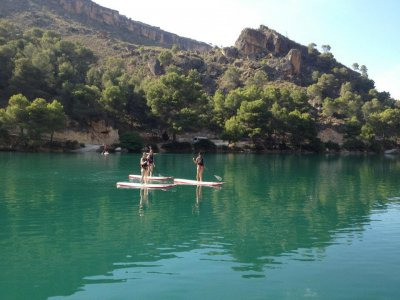 Stand up paddle surfing + lunch 2h and 30 min