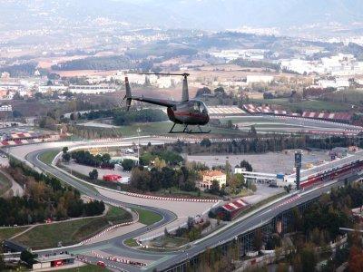 Helicopter Tour Over Circuit de Catalunya