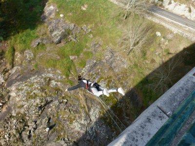2 Bungee jumping in Pontevedra