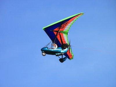 Fly a microlight plane, Santa Comba, 30min