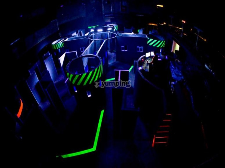 The Laser Tag Camp