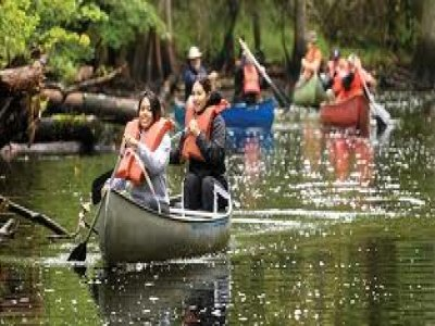Aberglaslyn Hall Outdoor Learning Centre Canoeing