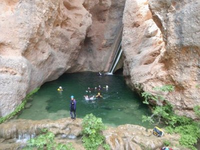 Canyoning and canoeing in Ebro