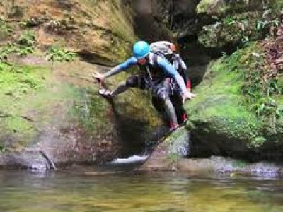 Aberglaslyn Hall Outdoor Learning Centre Canyoning