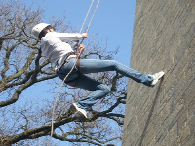 Nuts4Corporate Activity Days Abseiling