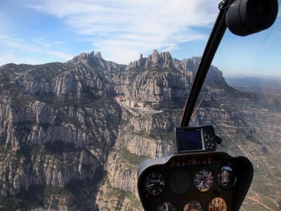 Helicopter Tour Over Montserrat