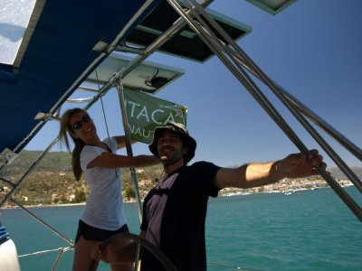 Trip on a sailing boat for two, 2h