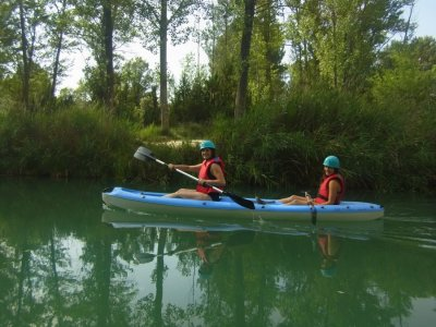 Canoeing on Júcar River, 75 minutes