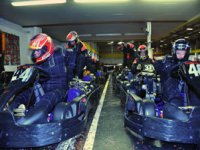 36 Laps Arrive Karting race