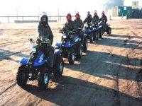 Quad Biking on our fleet of Yamaha Breezes
