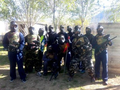 Paintball offer with 100 balls + barbecue, Loja