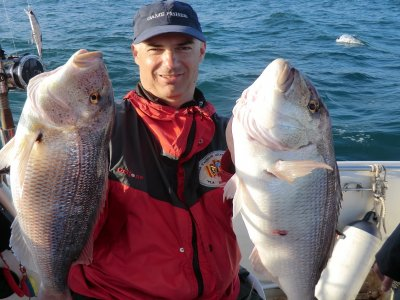 A whole day fishing in Barcelona