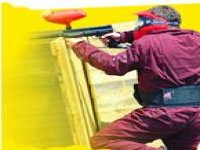 Action in paintball