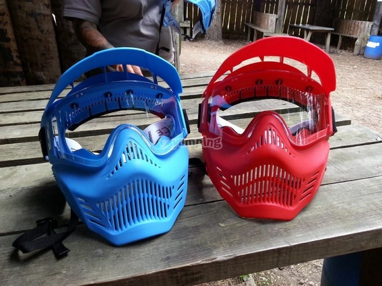 New masks for the customers