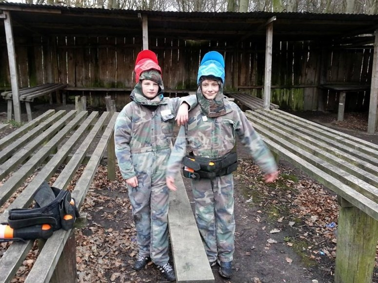 Paintball minimum age is 12 years old