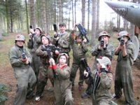 Party time with laser tag