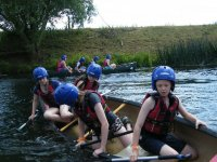 Open canoeing at Rock UK Summit Centre