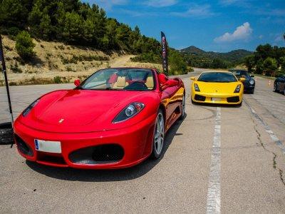 Drive a Ferrari F340 F1 on a 20 km road