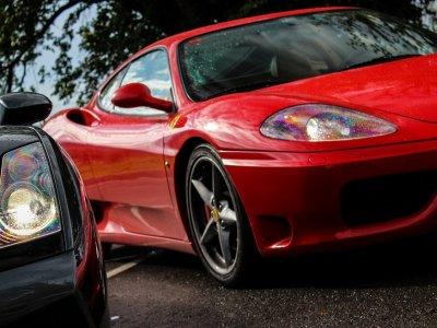 2 laps on a Ferrari F430 in Motorland Escuela