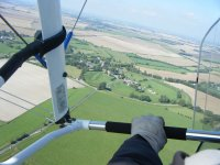 Stunning views from a microlight