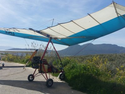 Ultralight Pilot for a Day in Atarfe 30 Minutes