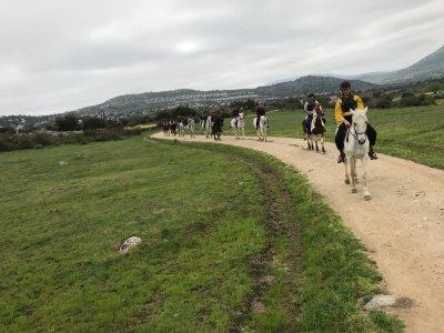 Horseback riding in Cañada Real 1 hour
