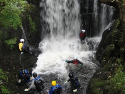 Half Day Canyoning Central Scotland