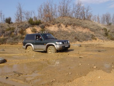 4x4 trip over the mountains in León