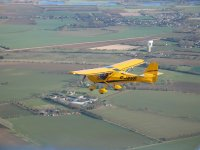 Light aircraft at British Microlight Aircraft Association