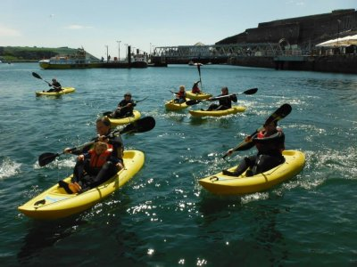 Plymouth and Devon Schools Sailing Association  Kayaking