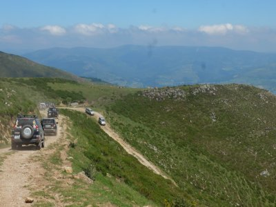 Weekend ATV route and accommodation Madrid