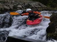 down the rapids