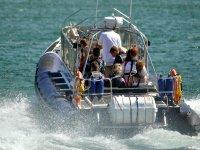 Exhilarating boat ride