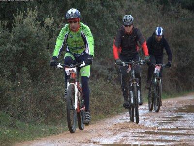 BTT route Montes de Toledo (differents levels)-2h