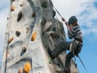 Climbing is great for kids