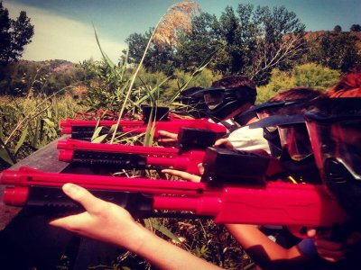 Soft Paintball 200 balls in Zarra or Cofrentes