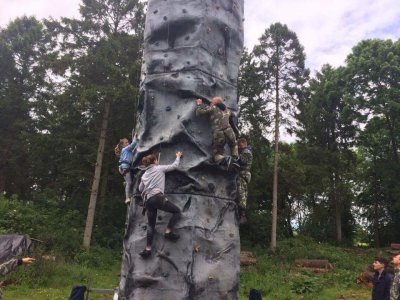 1610 Outdoor Adventure Abseiling
