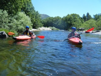3-Hour Canoe Trip in Salamanca River