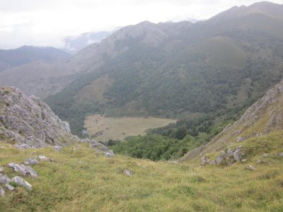4x4 route in La Vega de Brañagallones in Asturias
