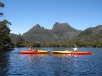 Kayaking on Dove Lake