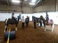 Lessons at Down-Side Riding School
