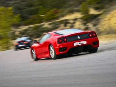 One lap on Ferrari F430 F1 in Motorland School