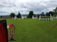 Jumping obstacles zone