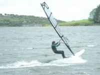 This windsurfer knows