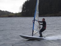 Afternoon windsurfing