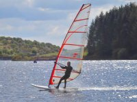 Windsurfing on a gorgeous day
