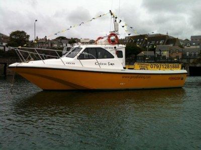 MJ Marine Celtic Fox Charters Boat Trips