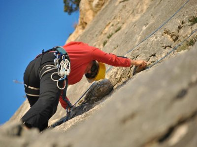 Climbing course in Toix 3 hours