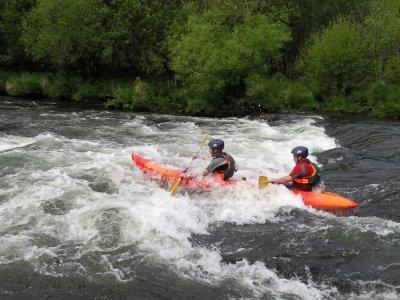 River descent by kayak in Vila de Cruces